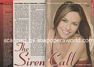 Interview with Chrishell Stause of All My Children