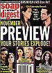 10-26-04 Soap Opera Digest  PEYTON LIST-ALICIA LEIGH WILLIS