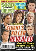 10-27-09 Soap Opera Digest  GREG VAUGHAN-RENA SOFER