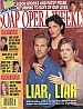 10-28-97 Soap Opera Weekly  JON HENSLEY-LESLI KAY