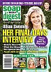 11-3-14 Soap Opera Digest  ALISON SWEENEY-ERIC CLOSE