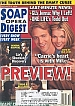 11-3-98 Soap Opera Digest  CHRISTIE CLARK-MARTHA BYRNE