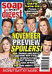 11-9-20 Soap Opera Digest LAURA WRIGHT-DONNY BOAZ