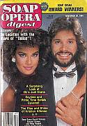 11-20-84 Soap Opera Digest  PETER RECKELL-JUDI EVANS