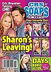 12-6-10 CBS Soaps In Depth  SHARON CASE-MELISSA REEVES
