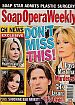 12-11-07 Soap Opera Weekly  COLIN EGGLESFIELD-TIKA SUMPTER