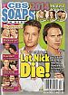 12-15-14 CBS Soaps In Depth  JUSTIN HARTLEY-JOSHUA MORROW