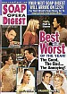 FREE 12-18-01 Soap Opera Digest BEST & WORST 2001