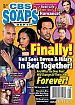 2-23-15 CBS Soaps In Depth  KRISTOFF ST JOHN-MISHAEL MORGAN