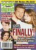 2-27-07 Soap Opera Digest  ALLEY MILLS-FARAH FATH