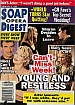2-9-99 Soap Opera Digest  STEVE BURTON-BILLY WARLOCK