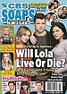 3-18-19 CBS Soaps In Depth SASHA CALLE-MICHAEL MEALOR