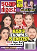 3-23-20 Soap Opera Digest DONNY BOAZ-MARTHA BYRNE