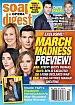 3-9-20 Soap Opera Digest RENA SOFER-BRANDON BEEMER