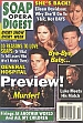 3-9-99 Soap Opera Digest  BILLY WARLOCK-STEVE BURTON