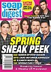 4-5-21 Soap Opera Digest SPRING PREVIEW-ROBERT SCOTT WILSON