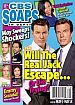 5-18-15 CBS Soaps In Depth  PETER BERGMAN-MISHAEL MORGAN