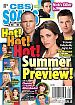 6-16-14 CBS Soaps In Depth  SEAN CARRIGAN-AMELIA HEINLE