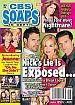 7-1-13 CBS Soaps In Depth  JESSICA COLLINS-STEVE BURTON