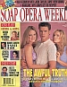 7-29-97 Soap Opera Weekly  SHARON CASE-LESLEY ANNE DOWN