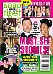 8-10-15 Soap Opera Digest  JACOB YOUNG-KARLA MOSLEY
