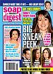 9-16-13 Soap Opera Digest  FLORENCIA LOZANO-SCOTT CLIFTON