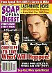 9-1-98 Soap Opera Digest  JULIANNE MORRIS-ROGER HOWARTH