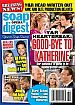 9-9-13 Soap Opera Digest  CHRISHELL STAUSE-HARTLEY SAWYER