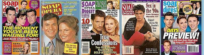 Soap Opera Digest Back Issues from the 70s to the Present