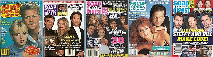 Back Issues of Soap Opera Digest from the 70s to the Present