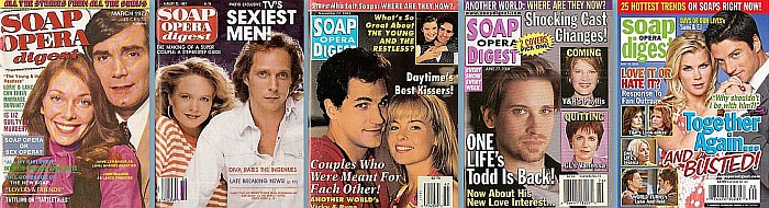 Back Issues of Soap Opera Digest from 1976 thru 2021