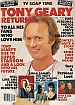 Winter 1984 TV Soap Time  TONY GEARY RETURNS